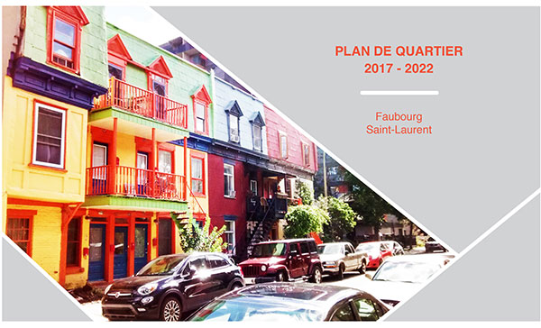Plan de quartier 2017-2022 Faubourg Saint-Laurent